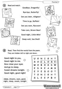 Greetings and Goodbyes Worksheet