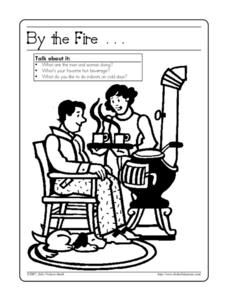 By the Fire... Worksheet