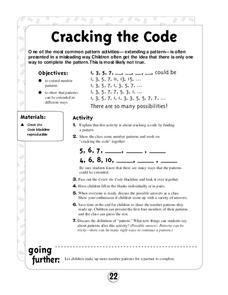 Cracking the Code Worksheet