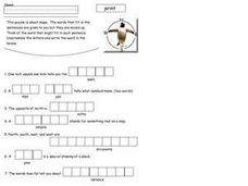Maps Puzzle Worksheet