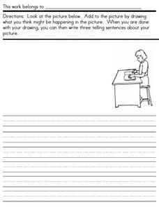Writing Conventions: Teacher Working Worksheet