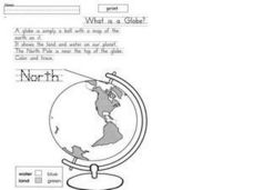 What is a Globe? Worksheet