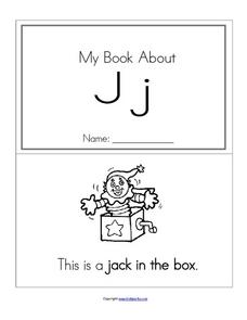 My Book About Jj Worksheet