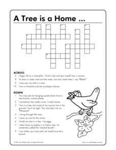 A Tree Is A Home... Worksheet