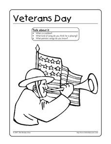 Veterans Day Activity Worksheet