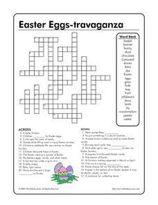 Easter Eggs-travaganza Worksheet