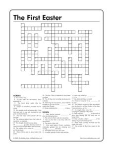 The First Easter Worksheet