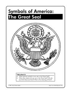 Symbols of America: The Great Seal Worksheet