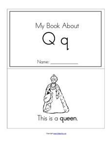 My Letter Qq Worksheet