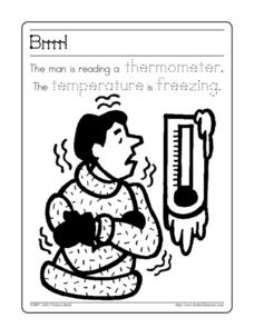 Brrrr! Worksheet