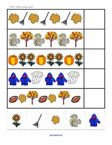 Fall: What Comes Next? Worksheet