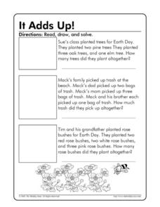 It Adds Up! Worksheet