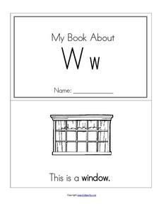 My Book About Ww Worksheet