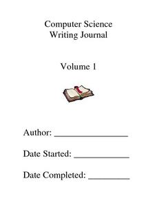 Computer Science Writing Journal Worksheet