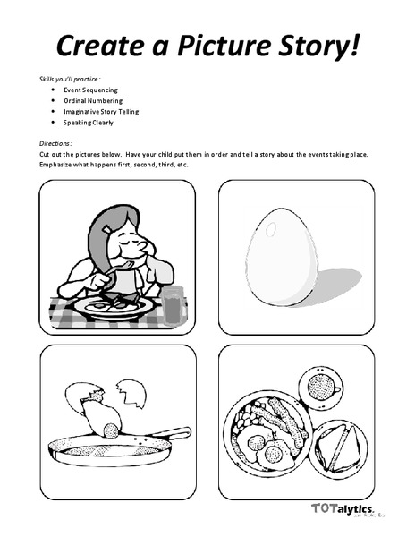 Create a Picture Story! Worksheet