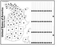 United States of America: Name That State! Worksheet