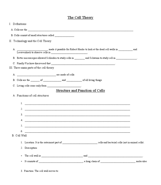 {Cell Theory Worksheets Pixelpaperskin – Cell Theory Worksheet