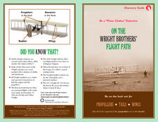 On the Wright Brothers' Flight Path Worksheet