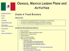 Create A Travel Brochure Lesson Plan