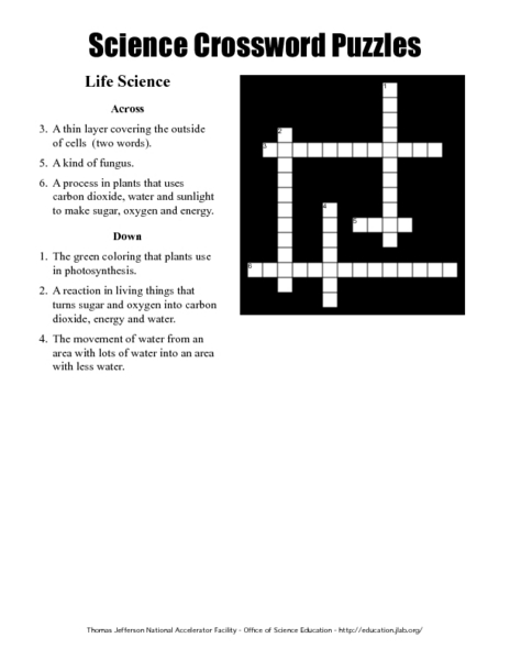 Life science worksheets for 7th graders