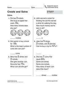 Create and Solve Worksheet