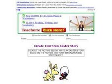 Create Your Own Easter Story Worksheet