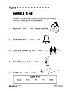 Double Time Worksheet
