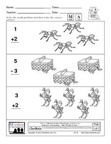 Early Childhood Math Worksheet