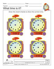 What Time is It? 9 Worksheet