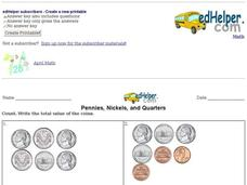 Pennies, Nickels and Quarters Interactive