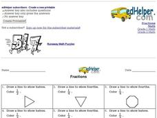 Fractions Practice: Easy Worksheet