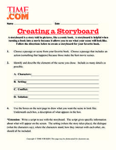 Creating a Storyboard Lesson Plan
