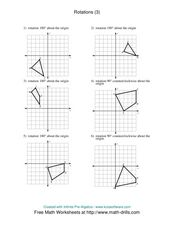 Rotations [3] Worksheet