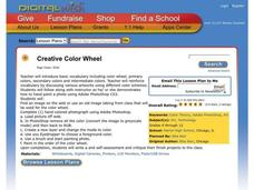 Creative Color Wheel Lesson Plan