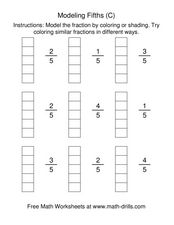 Modeling Fifths [C] Worksheet