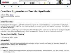 Creative Expressions--Protein Synthesis Lesson Plan