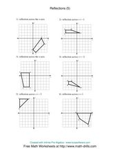 Reflections [5] Worksheet
