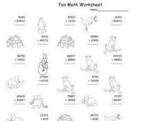 Fun Math Worksheet: Addition 3 Worksheet