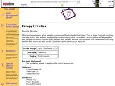 Creepy Crawlies Lesson Plan