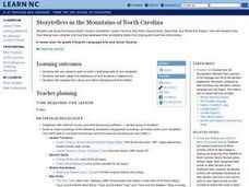 Storytellers in the Mountains of North Carolina Lesson Plan
