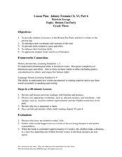 Johnny Tremain Vocabulary Worksheet and Quiz by Bostons and Books