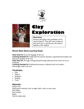 Clay Exploration Lesson Plan