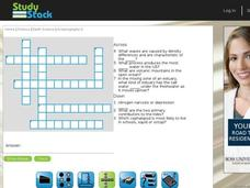 Oceanography Crossword Puzzle Interactive