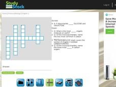 Biology Crossword Puzzle 7 Interactive