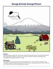 Energy Activity: Energy Picture Worksheet