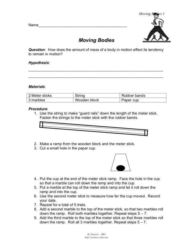 Moving Bodies Lesson Plan