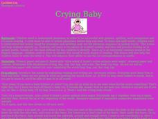 Crying Baby Lesson Plan