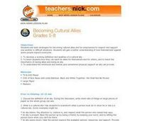 Becoming Cultural Allies Lesson Plan