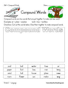 Compound Words? Worksheet