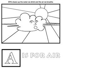 A is for Air Worksheet